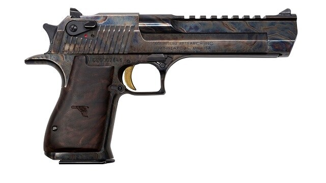The new case hardened Desert Eagle. (Photo: Magnum Research)