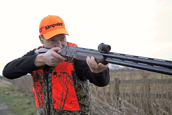 The Micro S-1 is designed to work alongside ventilated rib shotguns. (Photo: Aimpoint)