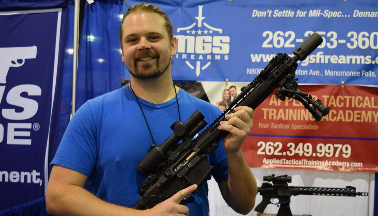 Pulling out all the gear with MGS Firearms. (Photo: Daniel Terrill/Guns.com)