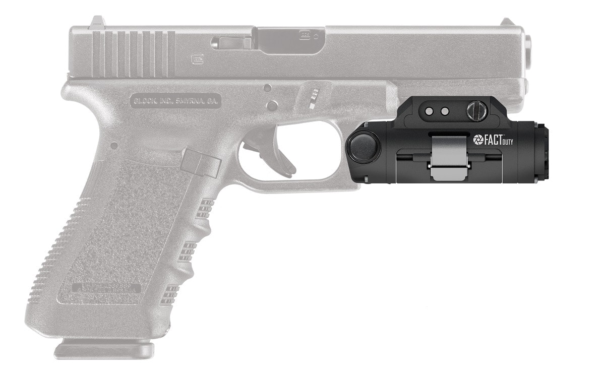 Viridian's Fact Duty gun-mounted camera automatically turns on when pulled from its holster. (Photo: Viridian Weapon Technologies)