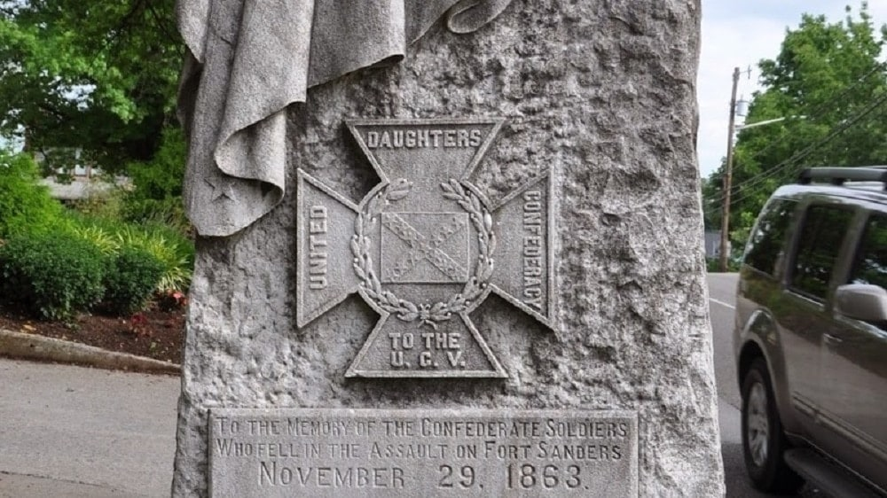 The Fort Sanders Confederate monument in Knoxville, Tennessee. (Photo: Change.org)