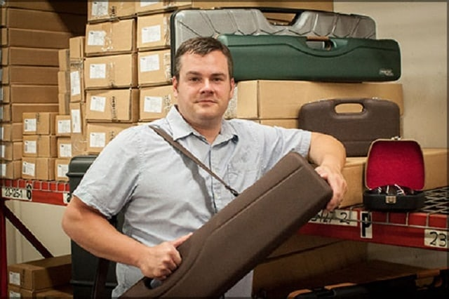IntelCase Company, a distributor of Negrini luxury gun cases, is expanding its business in Arkansas. (Photo: IntelCase)