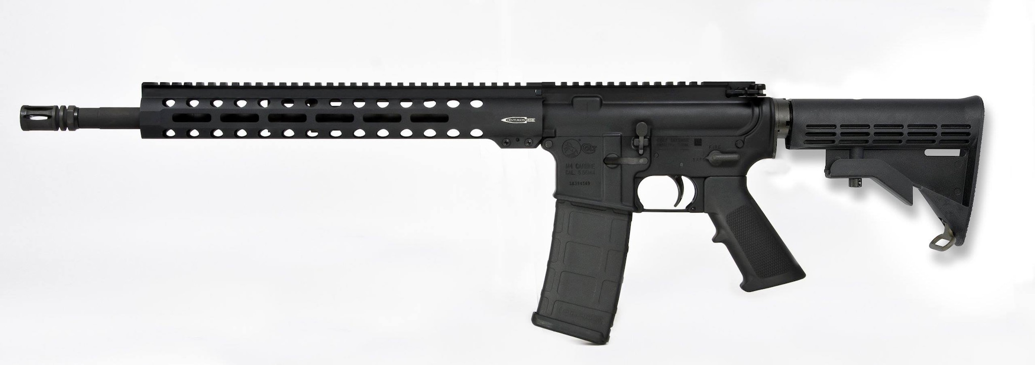 The Trooper is based on the LE6920, but with more M-LOK. (Photo: Colt)