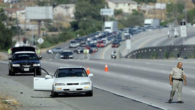 California freeway shootings