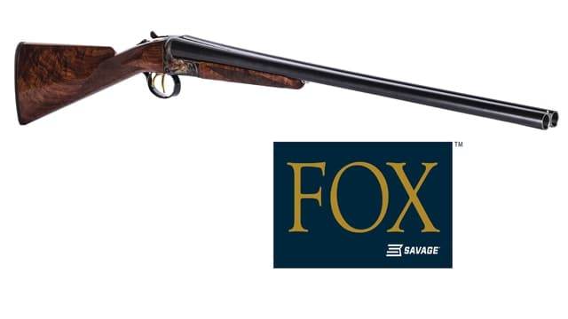 The Fox A Grade Series shotgun shipped to dealers this month. (Photo: Savage Arms)