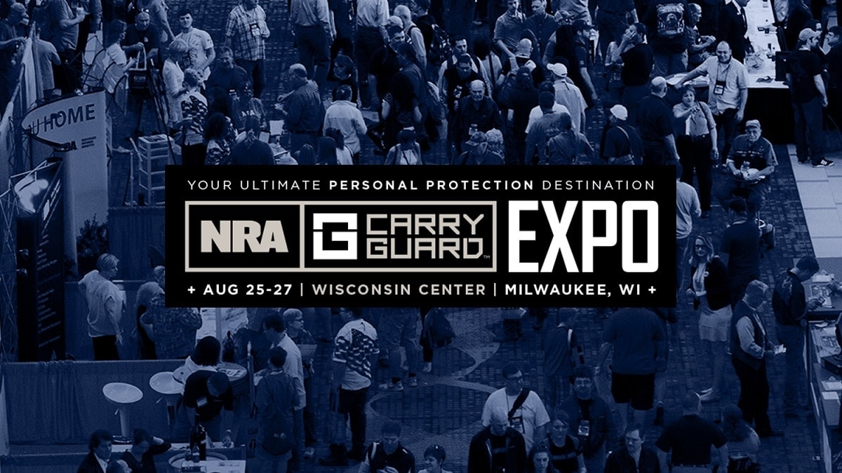 The NRA Carry Guard Expo begins Friday, Aug. 25.
