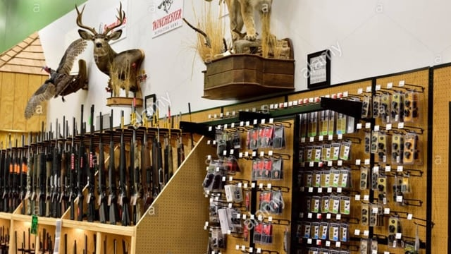 Sportsman's Warehouse said demand for guns and ammo declined by double digits in its third quarter, ending Sept.30.(Photo: Sportsman's Warehouse)