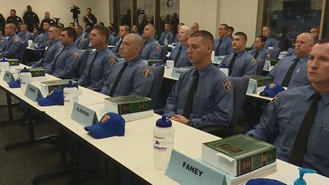 Despite Largest Cadet Class In Years San Antonio Police