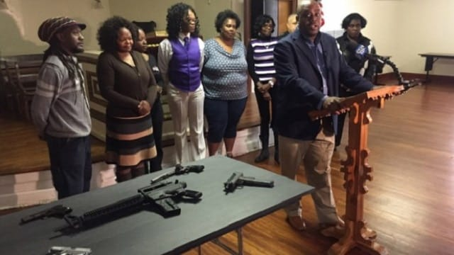 Savannah Alderman Van Johnson partnered with nonprofit Savannah Youth City Inc. on the gun buyback initiative. (Photo: Savannah Morning News)
