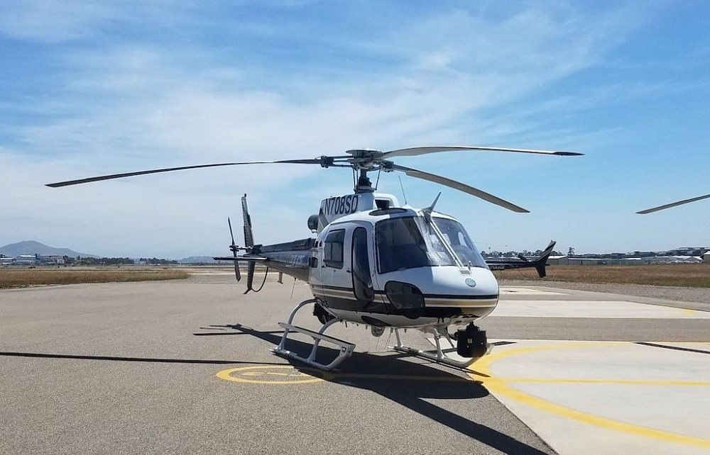 San Diego Police Department Airbus Helicopter AS350. (Photo: SDPD)