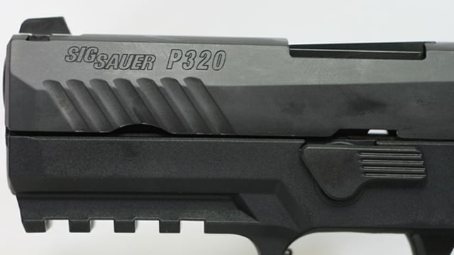 The business end of the Sig P320 pistol. (Photo: GunBroker)