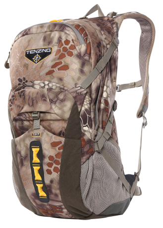 The daypack boasts a roomy exterior and user adjustable exterior features. (Photo: Tenzing)