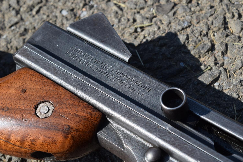 For fun, the ATF SRT team brought out a Thompson machine gun chambered in .45. (Photo: Daniel Terrill/Guns.com)