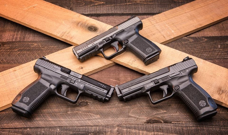 The safety update includes all Canik 9x19mm pistols. (Photo: Canik via Facebook)