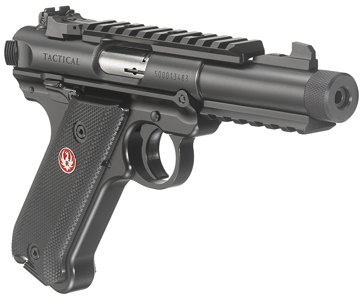 The Tactical Mark IV is one of three new pistols offered by Ruger. (Photo: Ruger)