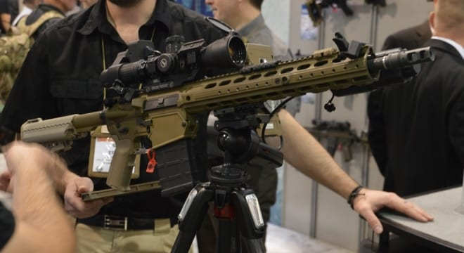 Planned ease in arms export rules could boost gun companies both large and small