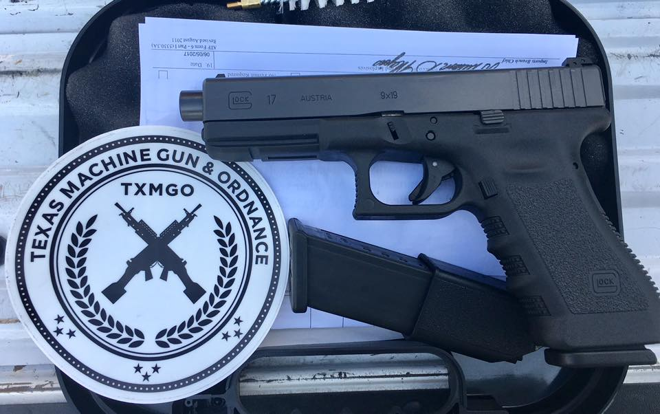 The Australian G17A has just a slight difference when compared to standard models-- and there is now one in Texas. (Photos: TXMGO)