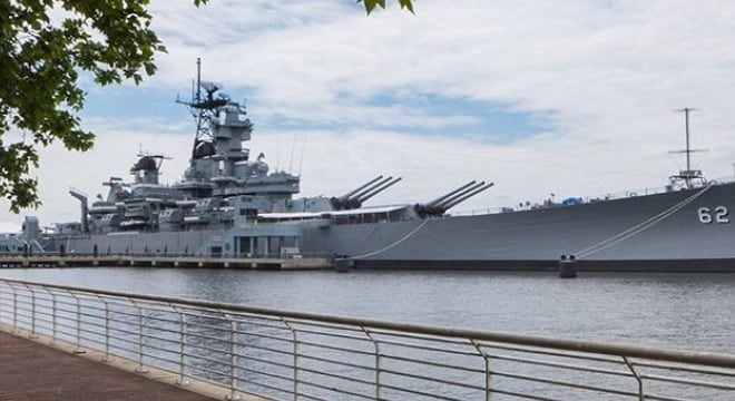 The USS New Jersey began her naval career in WWII with 49 20mm Oerlikon cannon. She now has part of of one. (Photo: Battleship New Jersey Museum)