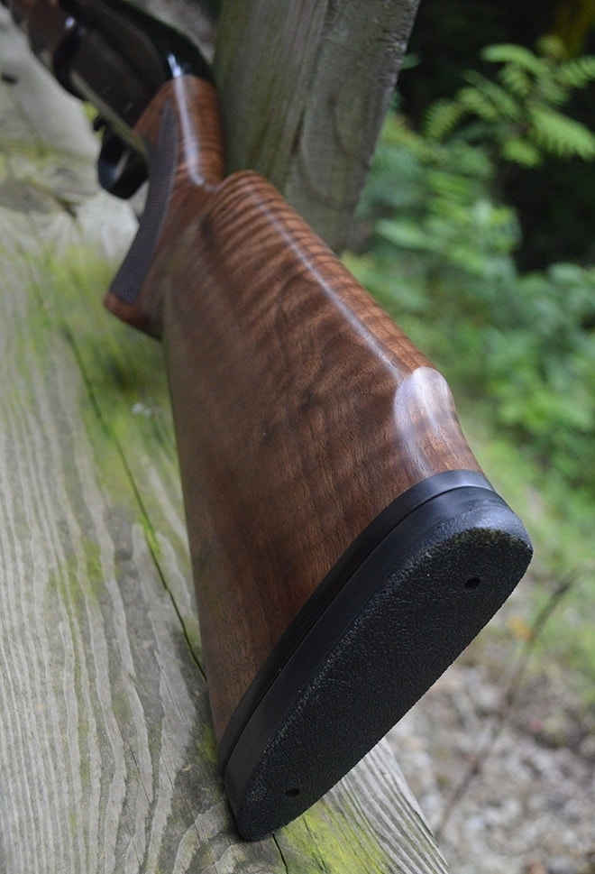 CZ_628_buttstock_shows_exceptional_wood_figuring_and_a_more_than_ample_recoil_pad_for_the_28_ga
