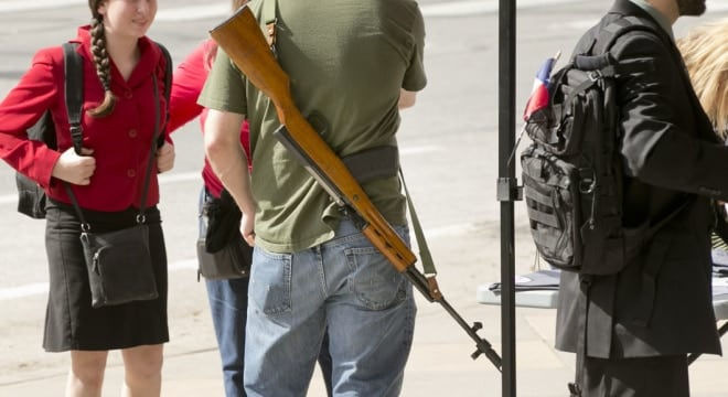 California moves to strike last open carry allowance in state law