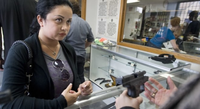 Even if they already own a gun, Californians continue to have to wait 10 days to buy additional firearms(Photo: Jebb Harris/The Orange County Register/AP)