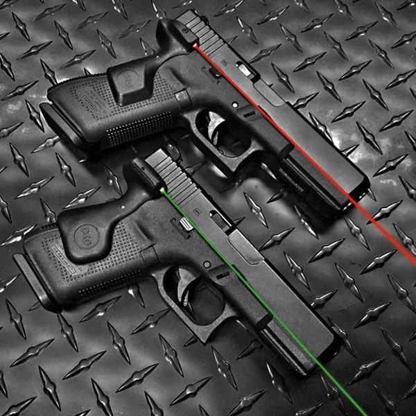 Crimson Trace offers green and red laser options for the new Gen. 5 Glock 17 and 19. (Photo: Crimson Trace)