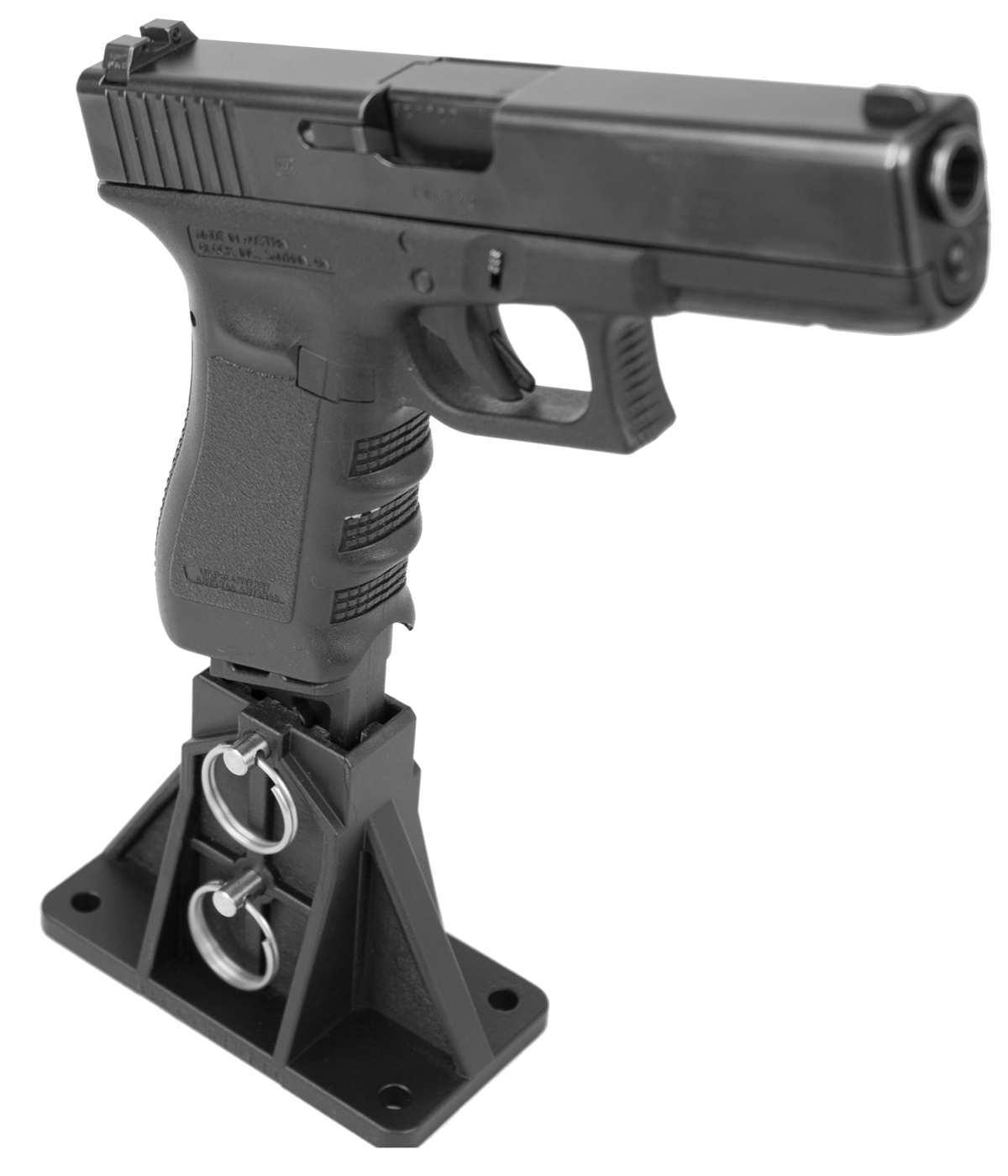 The MAST allows Glock owners to service, clean and display their favorite polymer pistol. (Photo: Ergo)