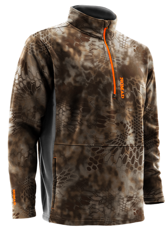 The Southbounder fleece provides a lightweight design paired with warmth and durability for hunters on early morning hunts. (Photo: Nomad)