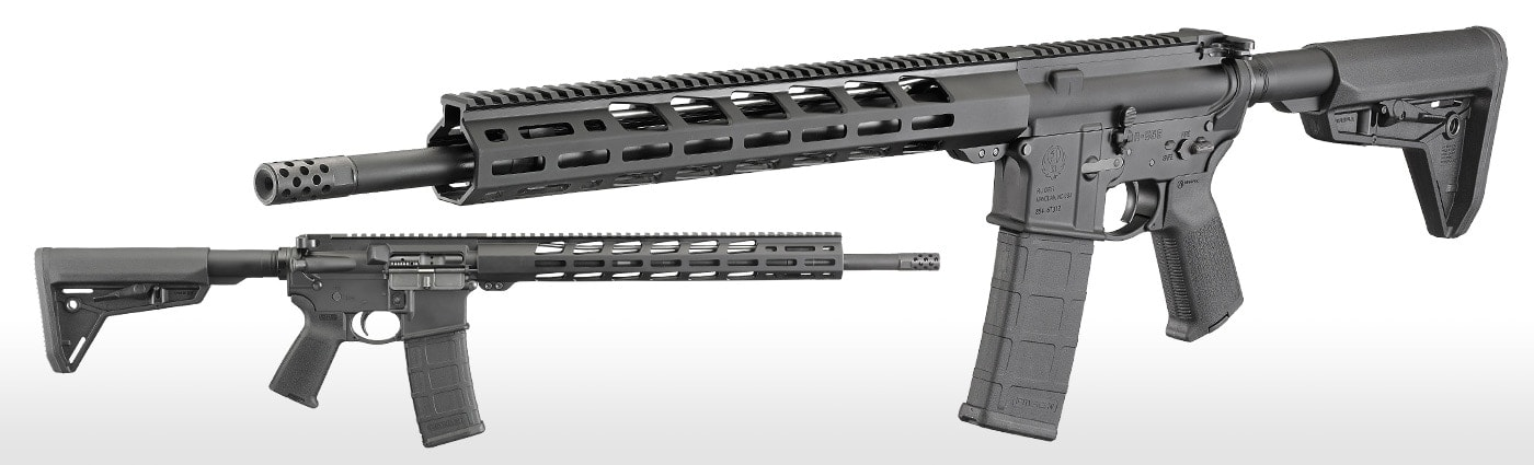 The Ruger MPR has all of your standard AR features from a forward assist to a chromed bolt and gas key, while adding a lot of extras for a factory rifle. (Photo: Ruger)