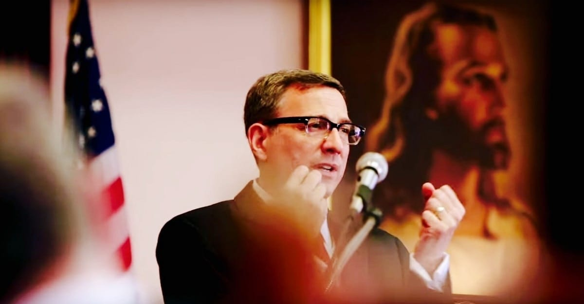 Rev. Dr. Robert Schenck, gun control advocate and president of The Dietrich Bonhoeffer Institute. (Photo: YouTube)