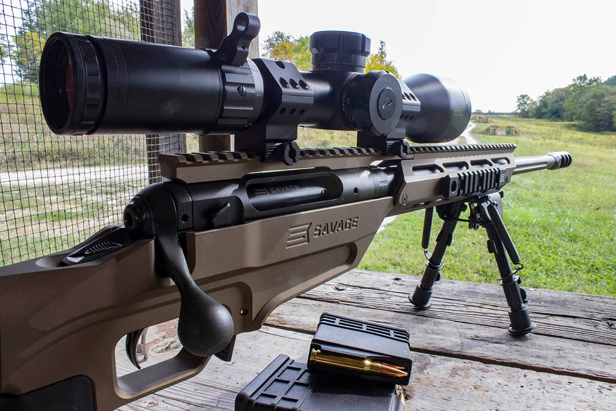 The Stealth Evolution offers multiple configurations, allowing shooters to choose the exact setup they want. (Photo: Savage Arms)
