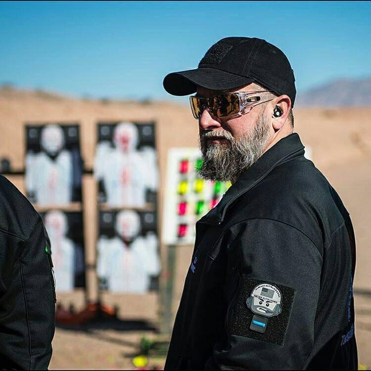 Tactical Shit owner TJ Kirgin at the range. (Photo: Tactical Shit/Facebook)