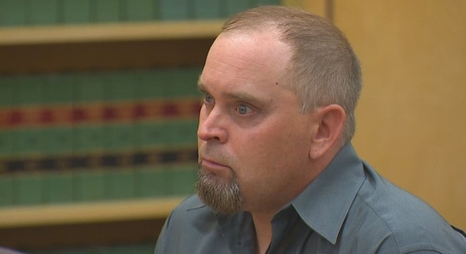 Tobin Panton was sentenced to 8.5 years in prison for manslaughter in the first degree after he fatally shot a sleeping neighbor while firing at a fleeing car thief. (Photo: Komo News)