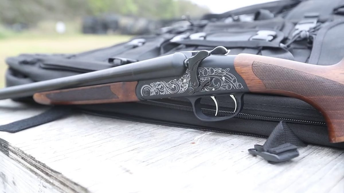 The Road Agent Shotgun offers double the triggers to allow both barrels to fire at once. (Photo: American Tactical via YouTube)