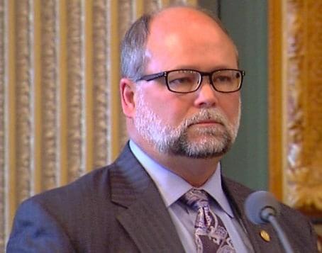 Michigan State Senate Majority Leader Arlan Meekhof. (Photo: West Michigan Politics)