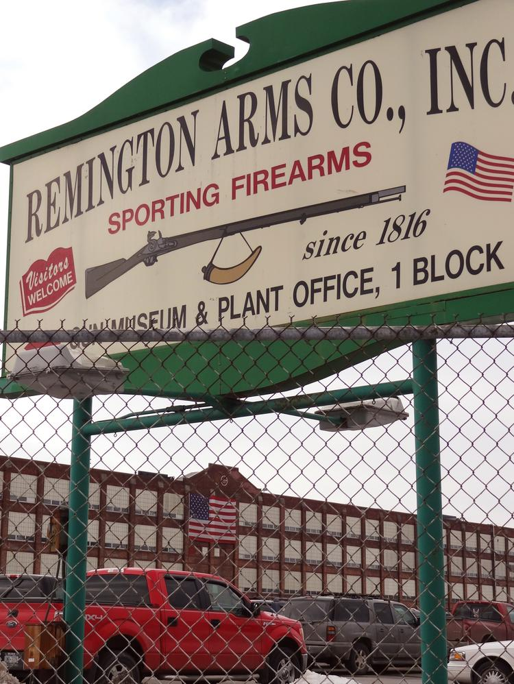 Remington Arms announced more layoffs at its Ilion, New York plant, reportedly due to an ongoing downturn in the firearms industry. (Photo: Donna Abbott-Vlahos/Triad Business Journal)