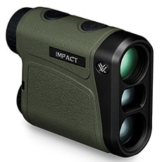 The Impact 850 Laser Rangefinder allows shooters to accurately measure distance of targets. (Photo: Vortex Optics)