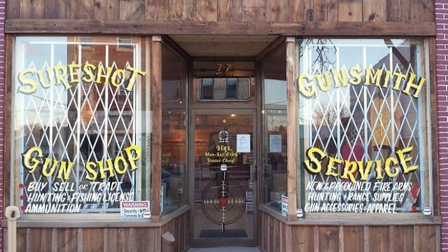 Bradley James Ries, co-founder of the Sureshot Gun Shop in Clinton, was given prison time for transferring a gun to a man without a background check and later trying to cover it up. (Photo: Sureshot via Facebook)