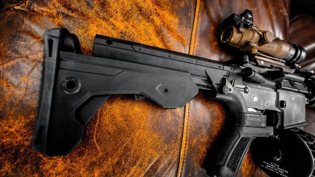 A majority of registered voters surveyed last week support a bump stock ban. (Photo: Slide Fire Solutions/Facebook)