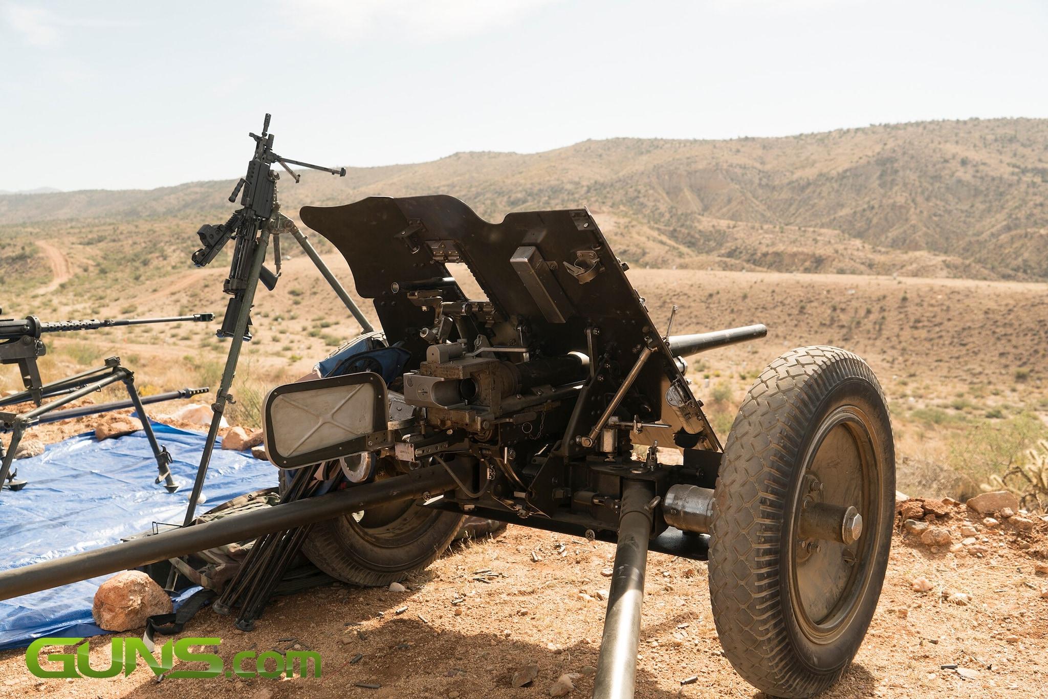 Big Sandy Machine Gun Shoot