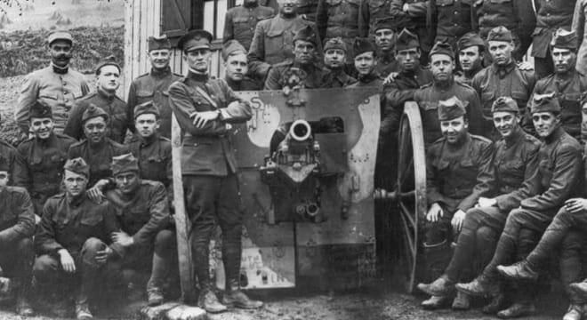 The gun was credited with firing the first American shot on the Western Front (Photos: West Point)