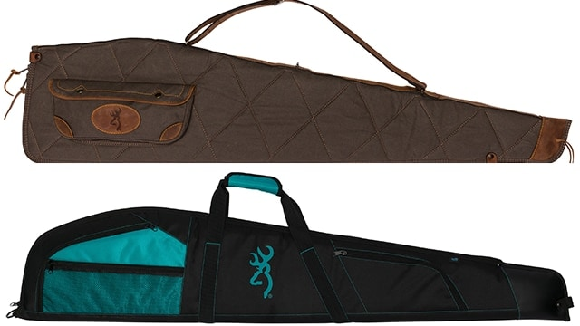 Browning launched new flexible, soft gun cases for both long guns and pistols. (Photo: Browning)