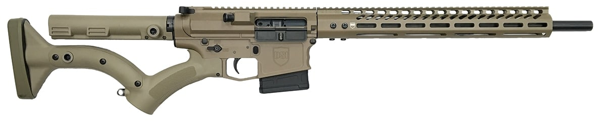 The DS-10 Typhoon in Flat Dark Earth will now be offered in 6.5 Creedmoor. (Photo: Dark Storm Industries)