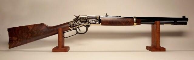 "The ""One of Twenty"" anniversary edition Big Boy .44 magnum lever action rifle. (Photo: Gunbroker.com)"