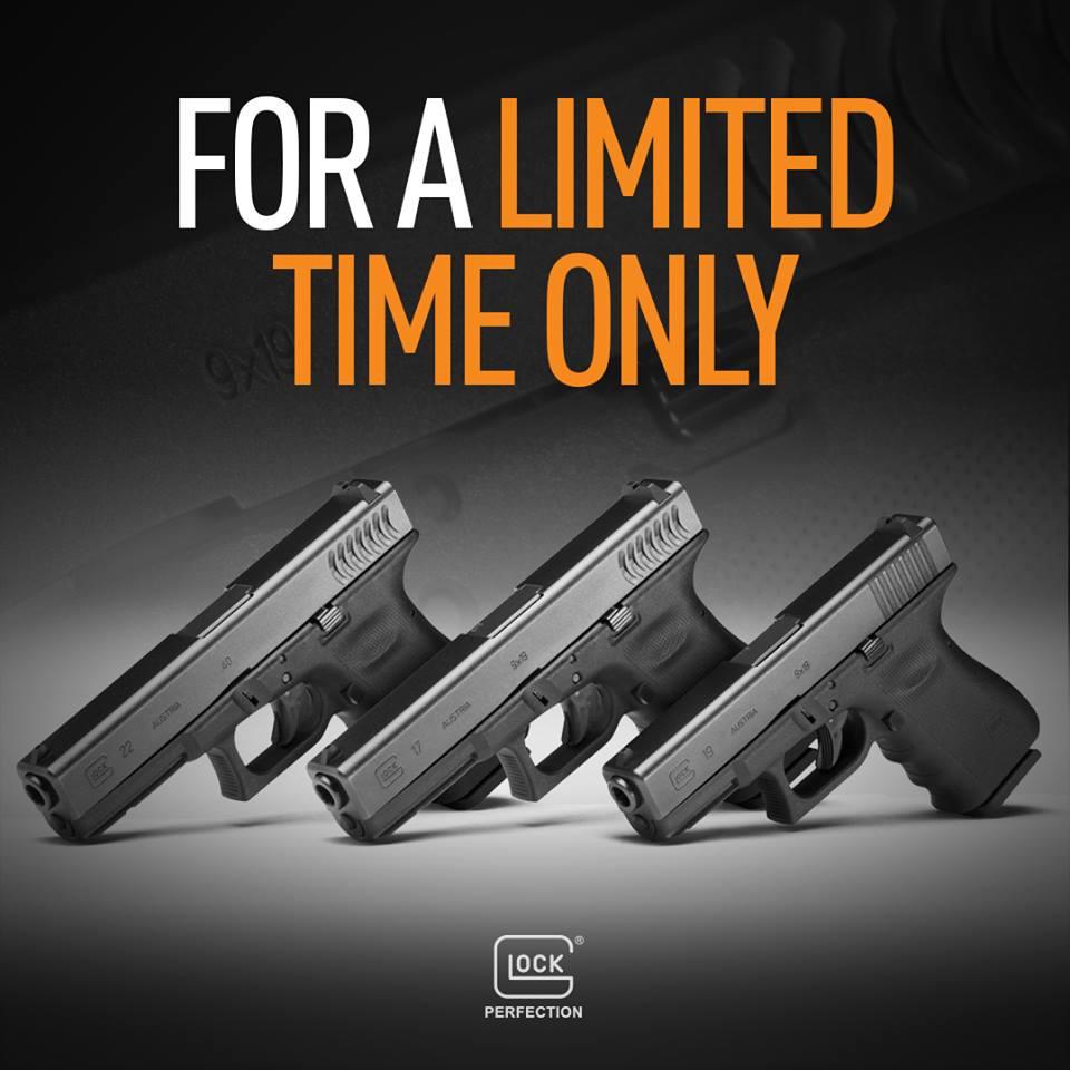 Glock pulls wildcard, announces RTF2 Gen 3s are back 2