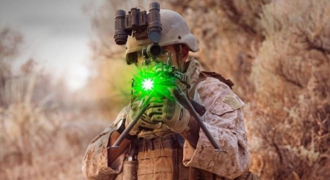 Marines adopt new nonlethal laser weapon to stun opponents