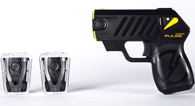 Tasers and stun guns are now on the menu in New Jersey (Photo: Taser)