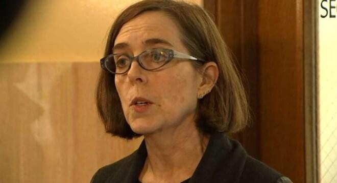 Oregon Gov. Kate Brown announces renewed gun control push