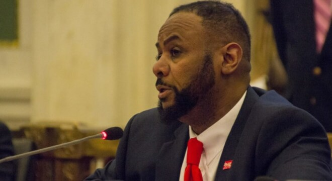 Councilman Curtis Jones, Jr, introduced the stun gun repeal in June after communications with attorneys from a gun rights group (Photo: Jared Piper/Phl Council)