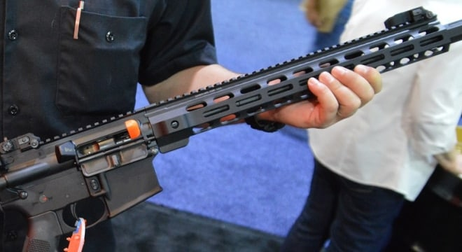 While bump stocks are ostensibly the main dish, some state lawmakers are adding other restrictions on semi-auto firearms and their magazines to the menu in upcoming ban legislation. (Photo: Chris Eger/Guns.com)